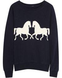 J.Crew | Horsing Around Cotton Sweatshirt | Lyst