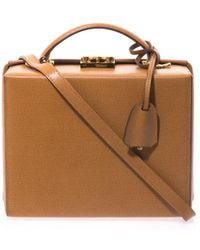 Mark Cross - Grace Leather Box Bag - Lyst