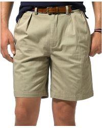 Ralph Lauren Tyler Classic Pleated Shorts - Lyst
