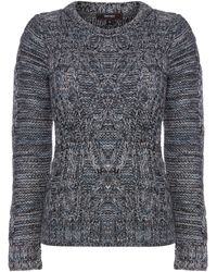 Therapy Luxury Cable Jumper - Lyst