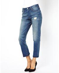 Levi's Levis 501 Boyfriend Jeans - Lyst