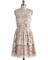 ModCloth Just You Fate Dress - Lyst