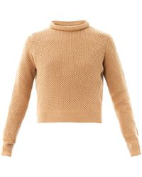 3.1 Phillip Lim Crew-Neck Wool Sweater - Lyst