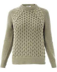 Acne Studios Ruth Air Cotton Sweater - Lyst