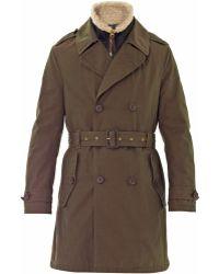 Burberry Brit | Wolverton Parka Coat | Lyst