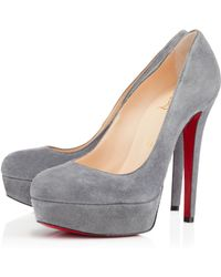 Christian Louboutin Bianca Suede - Lyst