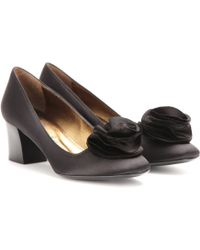 Lanvin Satin Pumps - Lyst