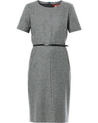 Max Mara Studio Black Kiota Dress - Lyst