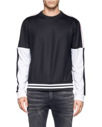 McQ by Alexander McQueen Colour Block Striped Pullover - Lyst