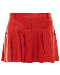 Thakoon Addition - Leather Tulip Skirt - Lyst