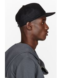 DRKSHDW by Rick Owens - Black Leather Blister Cap - Lyst 5f90213df201