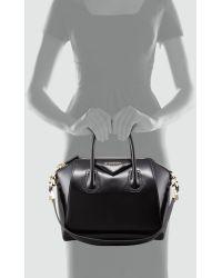 Givenchy Antigona Small Box Satchel Bag Black - Lyst