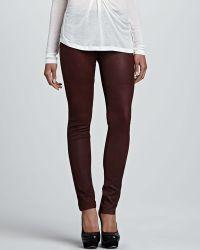 Graham & Spencer Leather Skinny Pants - Lyst
