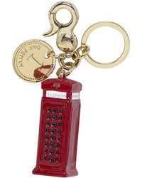 Mulberry - Telephone Booth Keyring - Lyst
