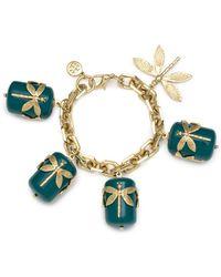 Tory Burch - Dragonfly Small Bracelet - Lyst