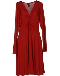 DKNY Kneelength Dress - Lyst