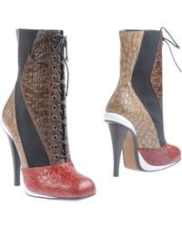 Fendi Ankle Boots - Lyst