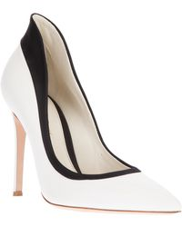 Gianvito Rossi Contrasting High Sided Pump - Lyst