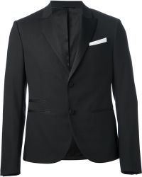 Neil Barrett Smoking Jacket - Lyst