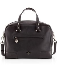 Pour La Victoire - Marcelle Leather Satchel Bag Black - Lyst