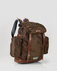 Ralph Lauren Polo Nylon Utility Backpack - Lyst