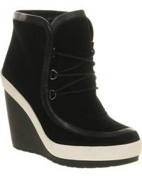 United Nude Urban Wedge Ankle Boot - Lyst