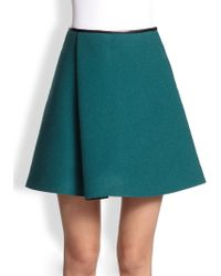 3.1 Phillip Lim Sculpted Flare Combo Skirt - Lyst