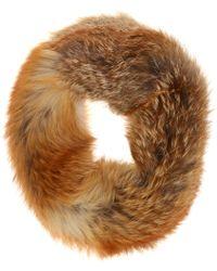 Inès & Maréchal - Vip Fox Fur Snood - Lyst