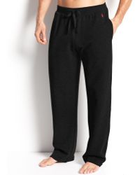Ralph Lauren Waffle Knit Thermal Pants - Lyst