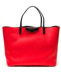Givenchy Large Antigona Bicolor Bag - Lyst