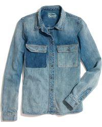Madewell Rivet & Thread Chambray Shirt - Lyst