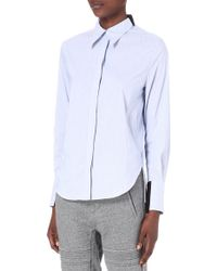 3.1 Phillip Lim Shadow Shirt - Lyst