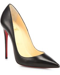 Christian Louboutin So Kate Kid Leather Pumps - Lyst