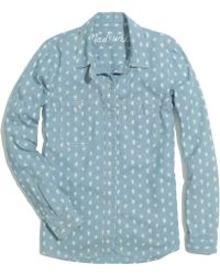Madewell Floralbud Chambray Shirt - Lyst