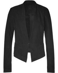 2nd Day - Black Suede Maya Leather Jacket - Lyst