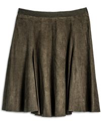 Cynthia Rowley Green Skirt - Lyst