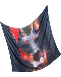 Givenchy - Oversize Modal and Cashmere Doberman Print Wrap - Lyst