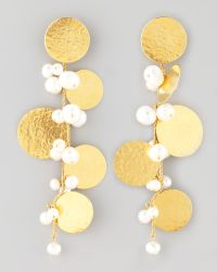 Herve Van Der Straeten Pastilles Drop Earrings - Lyst