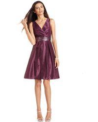 Js Boutique Sleeveless Embellished Waist - Lyst