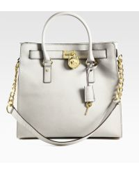 MICHAEL Michael Kors Hamilton Large North to south Tote Bag - Lyst