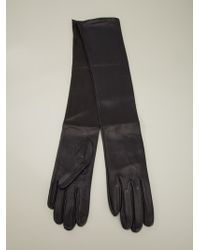 Plein Sud - Long Leather Gloves - Lyst