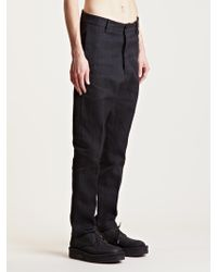 Rick Owens Mens Woven Astaires Pants - Lyst