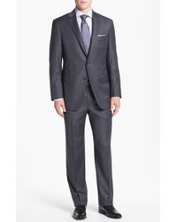 Samuelsohn Classic Fit Stretch Wool Suit - Lyst