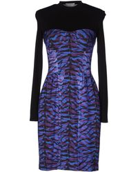 Calla Short Dress - Lyst