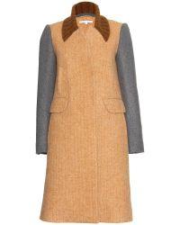 Carven Alpaca And Wool-Blend Coat - Lyst