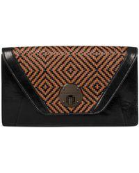 Elliott Lucca - Bali 89 Cordoba Leather Clutch - Lyst