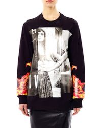 Givenchy - Collageprint Sweatshirt - Lyst