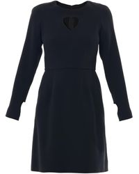 Honor Heart Cut-out Dress - Lyst