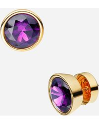 MICHAEL Michael Kors Glam Classics Cubic Zirconia Stud Earrings - Lyst