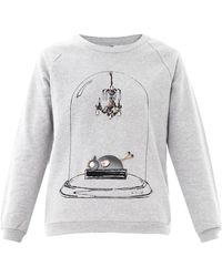 Mother Of Pearl - Embellished Sweatshirt - Lyst
